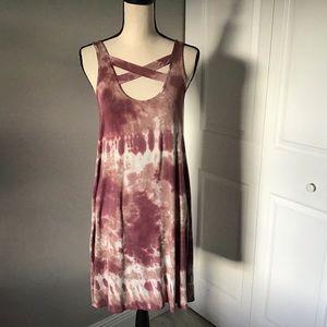 American Eagle Tie Dye Dress